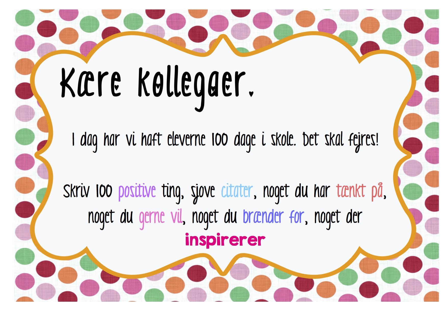 citater om skole 100 dage i skole lærere kopi   Edu21.dk   Læring i det 21. århundrede citater om skole