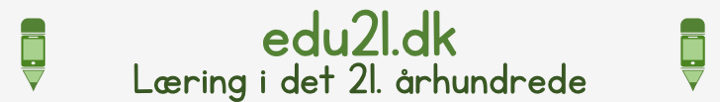 Edu21.dk – Læring i det 21. århundrede logo